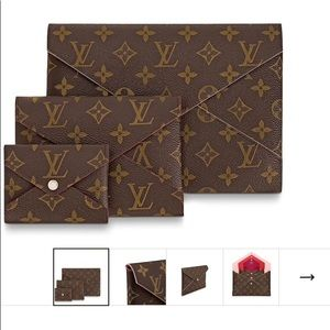 NWT- Authentic LV Small Kirigami Poshette 🌺